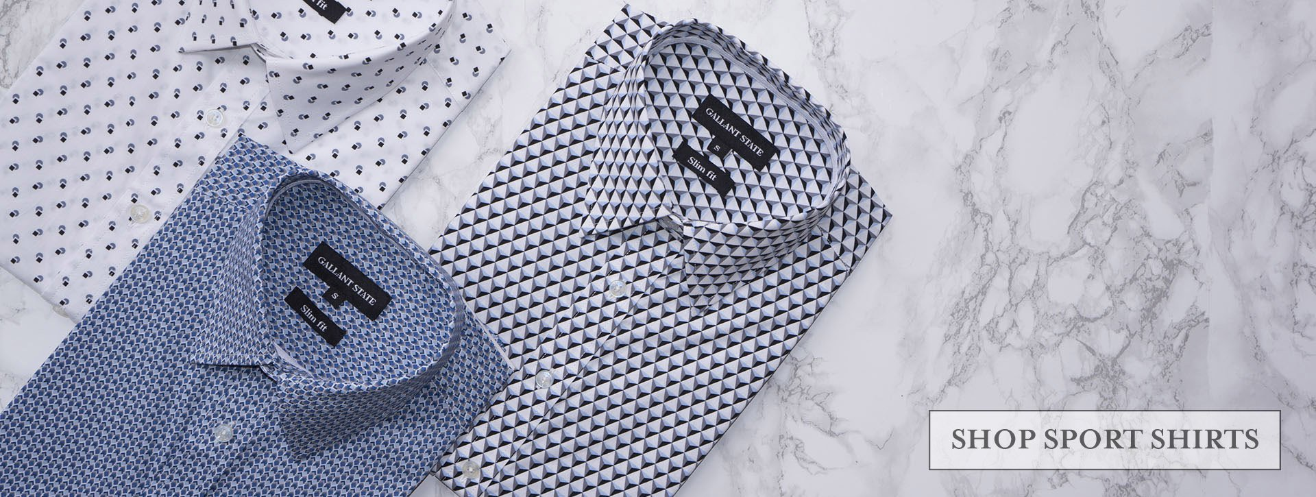 Gallant State Sport Shirts - Spencer, Henry & William