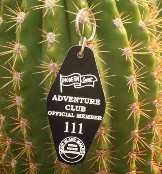 Adventure Club Keychain