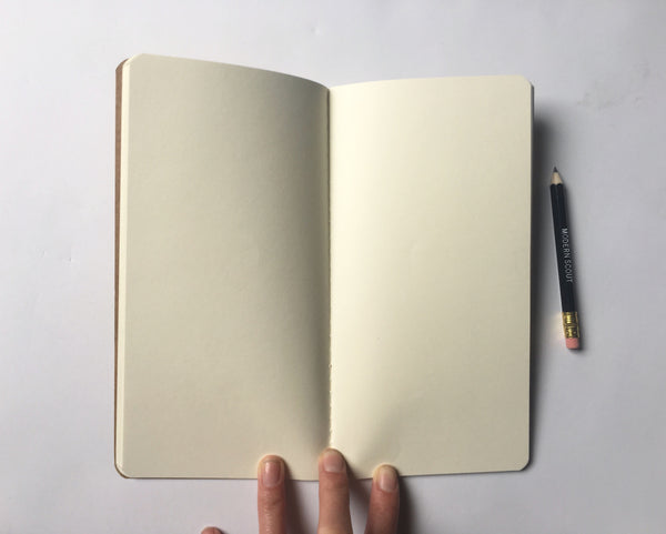 Modern Scout Adventure Journal: Blank