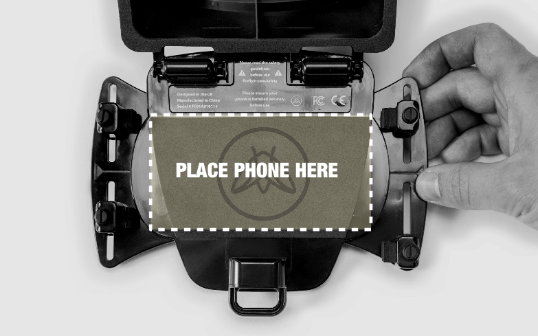 Place phone here