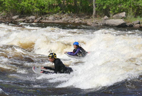 Whitewater Riverboarding