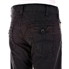 Armani P15 bootleg black jeans made in Italy