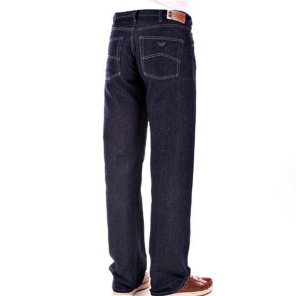 Armani Jeans J07 straight leg mens series 005 dark indigo
