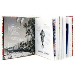 Sugar Cane Limited Edition Red Hardback Land of Aloha Image Book in Japanese