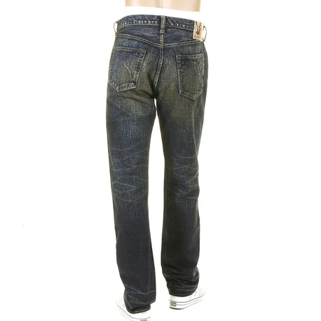 Sugar Cane Mens Okinawa Selvedge Vintage Cut Hard Wash Denim Jeans
