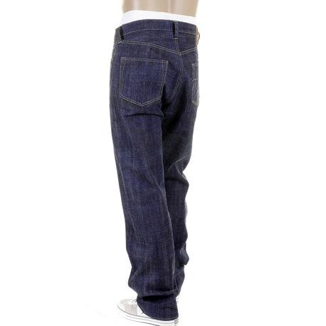 Sugarcane Mens Raw Japanese Selvedge Non Wash Hawaii Denim Jeans