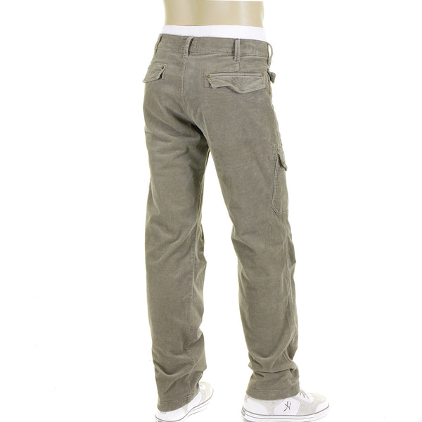 J6 Armani Jeans mud stretch cotton fine cords