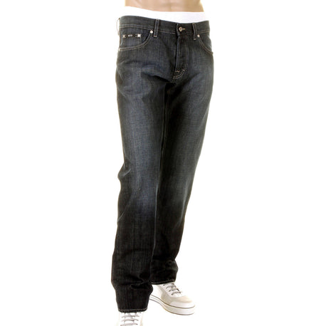 Boss Black Scout1 Jeans Hugo Boss Washed dark indigo with fading
