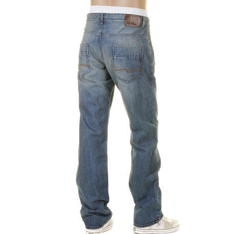 Hugo Boss Orange label men's jeans. Stonewashed with heavy fading