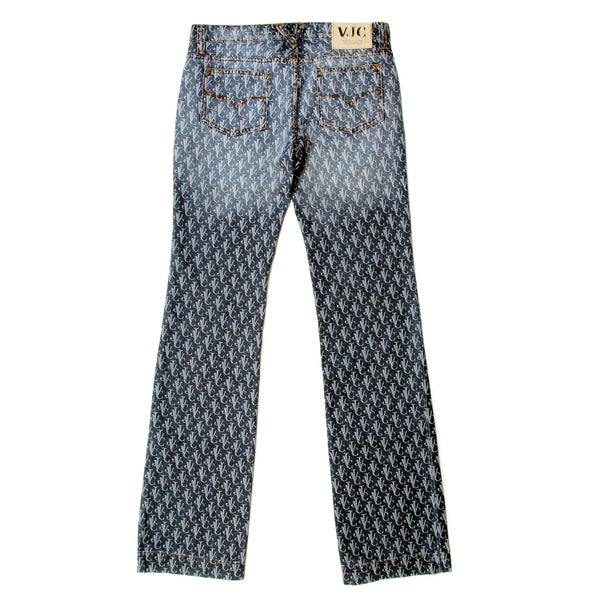 Versace Jeans Couture low waist bootcut jeans
