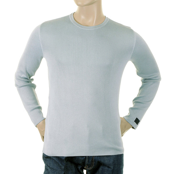 Armani Jeans aqua jumper made in Italy
