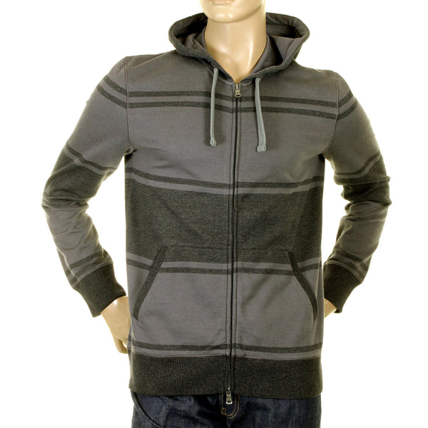 Boss Black men's grey hooded sweatshirt