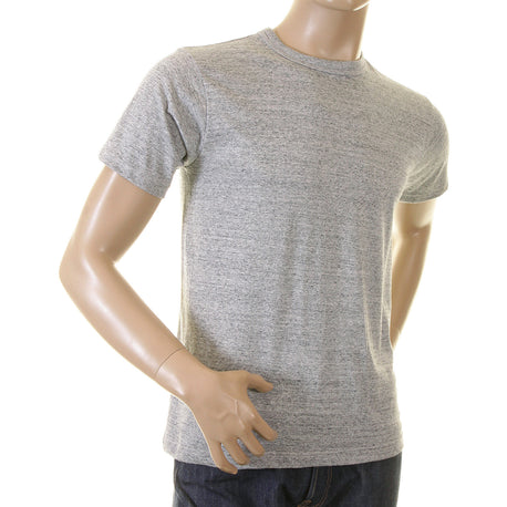 Whitesville Mens Cotton Marl Grey T Shirt