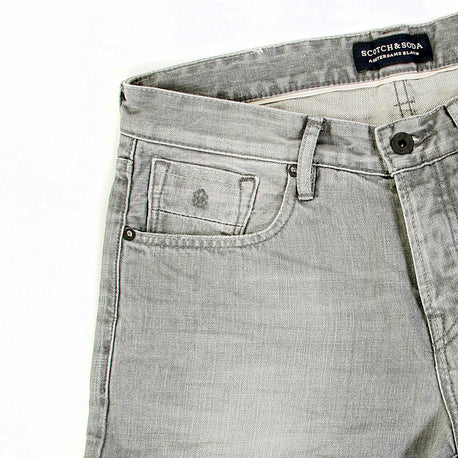 Scotch & Soda Ralston washed grey denim jeans