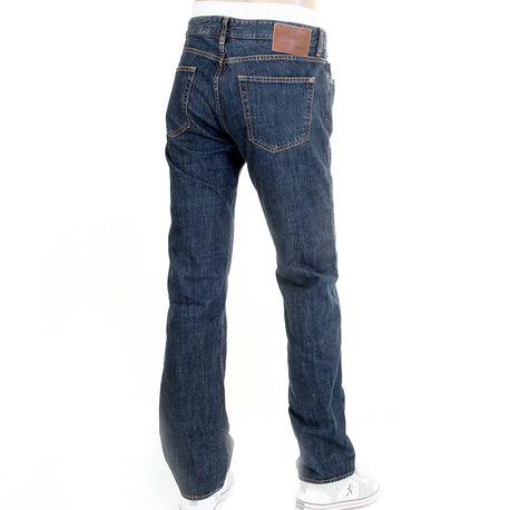 Boss Black Kansas jeans classic dark wash zip fly