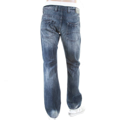 Armani Jeans J08 slim fit. Stonewash finish with whiskering fading