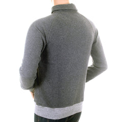 Hugo Boss Orange Label mens grey shawl collar sweatshirt