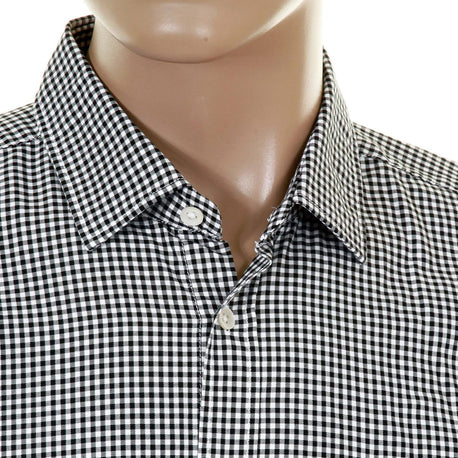 Hugo Boss Orange Label mens check shirt