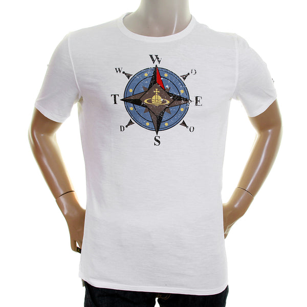 Vivienne Westwood white Anglomania t-shirt - Kitmeout