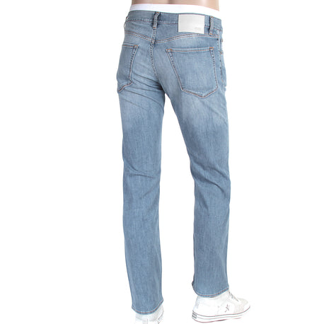 Maine Hugo Boss Black Label men's washed light blue denim jeans