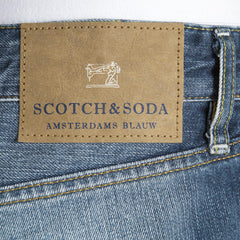 Scotch & Soda mens Ralston slim fit denim jeans