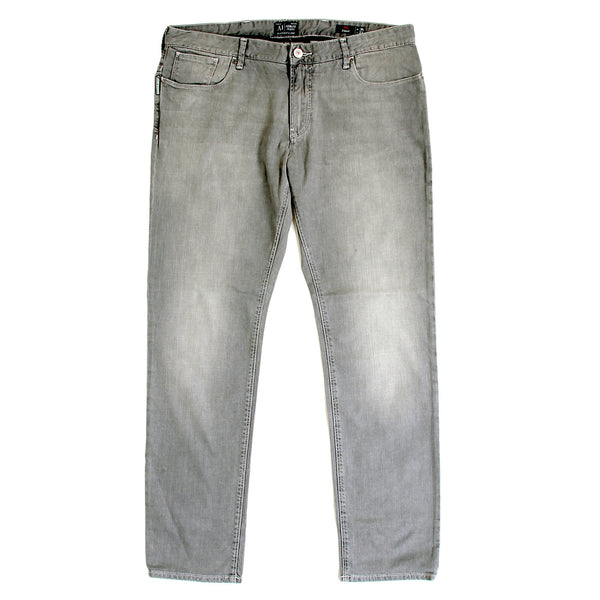 Armani J06 tight leg grey stretch jeans