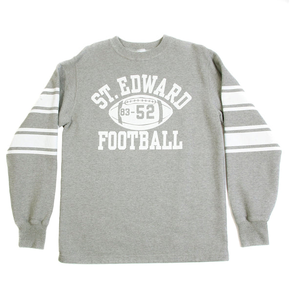 Cheswick Grey College Football Mens Sweatshirt