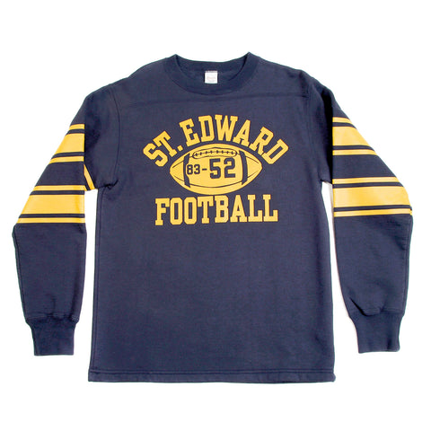 Cheswick Long Sleeved Navy College Football Sweatshirt