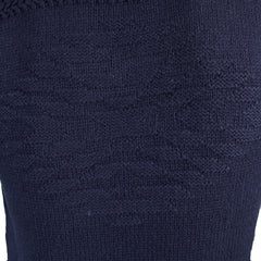 Scotch & Soda men's navy shawl collar knitwear sweater