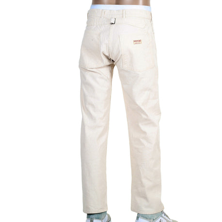 Sugar Cane Men's Straight Fit Cotton Unwashed Work Pant