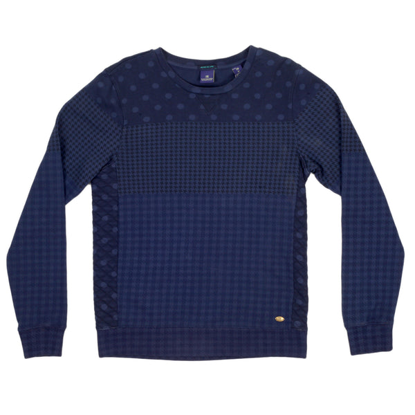 Scotch & Soda garment dyed sweatshirt