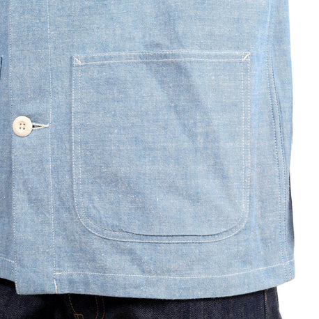 Blue rigid Flynn Jacket by Carhartt - Kitmeout