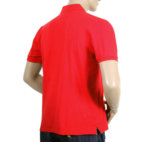 Mens Red Polo Shirt by Descente - Kitmeout