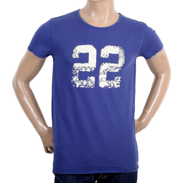 Scotch & Soda men's garment dyed T shirt