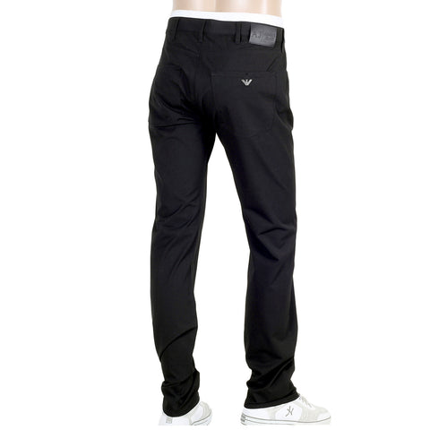 J45 Armani mens trousers O6J45 PX regular waist, tight leg, zip fly
