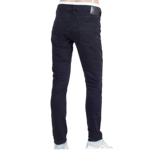 Scotch & Soda men's black skinny jeans