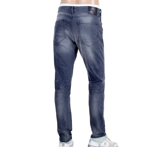 Scotch & Soda men's stretch charcoal denim jeans