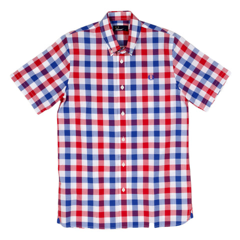 Gingham check shirt by Fred Perry - Kitmeout