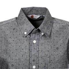Carhartt printed shirt Crandall in Grey