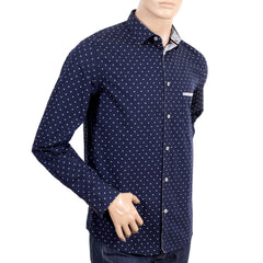 100% cotton navy shirt for men by Armani Jeans