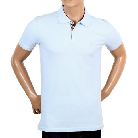 Aquascutum Hilton Polo Shirt in Light Blue - Kitmeout