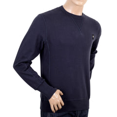 Navy sweatshirt Dualism project by Descente - Kitmeout