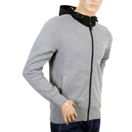 Descente Grey Marl Sweatshirt with Hood - Kitmeout