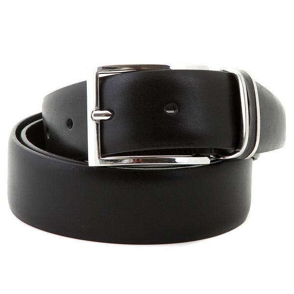 Boss Black Froppin Belt black leather 50151746 001 Hugo Boss Belt - Kitmeout