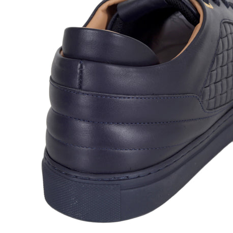 Android Homme Navy Woven Men's Trainers - Kitmeout