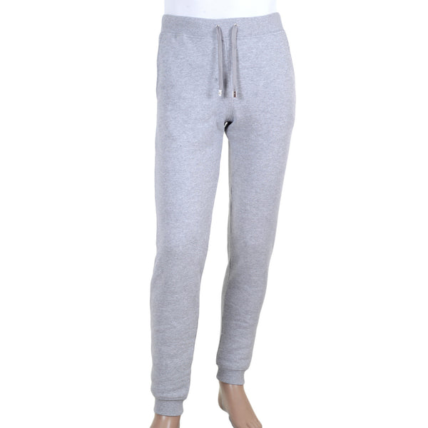 Versace 100% Cotton Grey Jogging Bottoms with Draw Cord Waist with Lion Head Toggles