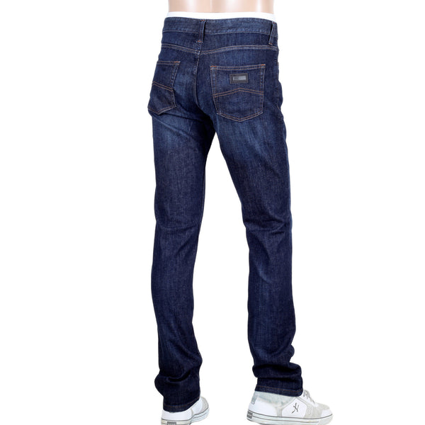 Giorgio Armani Jeans Stretch Blue Denim - Kitmeout