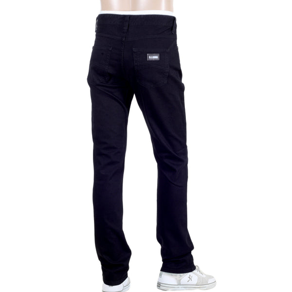 Armani Collezioni Black Jeans Regular Fit Stretch Denim Jeans - Kitmeout