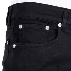 Versace Jeans Low Waist Slim Fit Black Stretch Denim Jeans by Versus Versace - Kitmeout