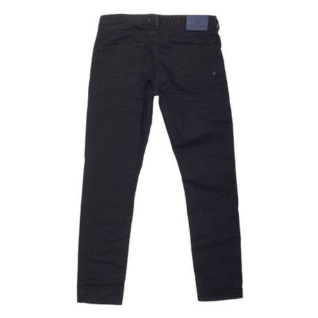 Scotch & Soda Black Skinny Washed Denim Jeans